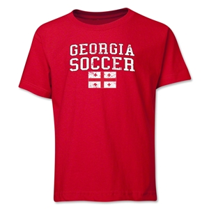 Georgia Youth Soccer T-Shirt (Red)