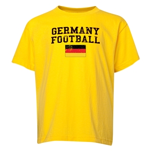 Germany Youth Football T-Shirt (Yellow)