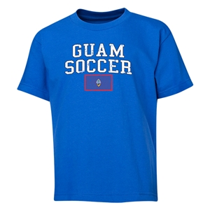 Guam Youth Soccer T-Shirt (Royal)