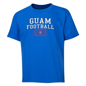 Guam Youth Football T-Shirt (Royal)