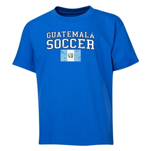 Guatemala Youth Soccer T-Shirt (Royal)