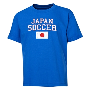 Japan Youth Soccer T-Shirt (Royal)