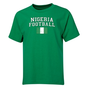 Nigeria Youth Football T-Shirt (Green)
