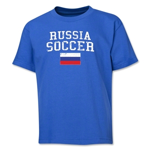 Russia Youth Soccer T-Shirt (Royal)