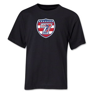 USA Sevens Rugby Youth T-Shirt (Black)
