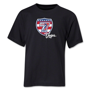 USA Sevens Vegas Rugby Youth T-Shirt (Black)