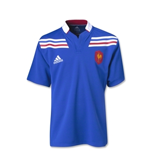 France Rugby 12/13 Youth Home Jersey