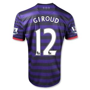 Arsenal 12/13 GIROUD Away Soccer Jersey