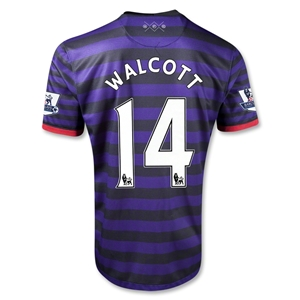 Arsenal 12/13 WALCOTT Away Soccer Jersey