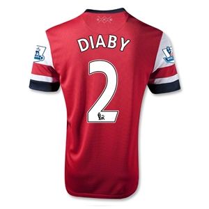 Arsenal 12/14 DIABY Home Soccer Jersey