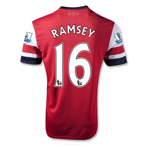 Arsenal 12/14 RAMSEY Home Soccer Jersey