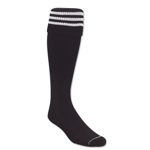 Three-Stripe Socks (Black/White)