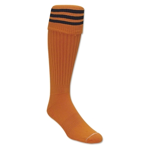 Three-Stripe Socks (Orange/Black)