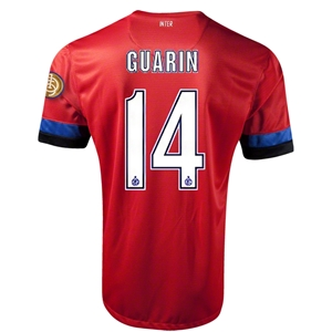 Inter Milan 12/13 GUARIN Away Soccer Jersey
