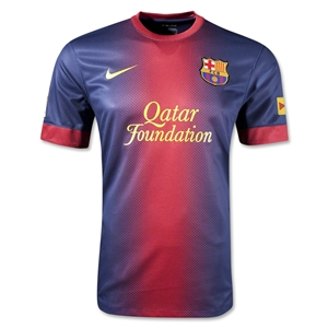 Barcelona 12/13 Jersey de Futbol Local