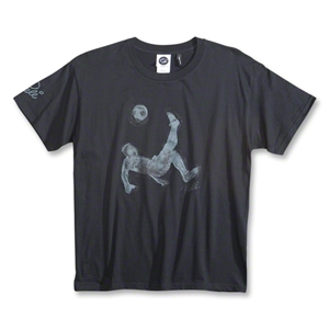 Pele Sports Youth Bike Kick T-Shirt (Black)