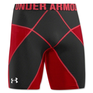 Under Armour HeatGear Core Compression Short Lite (Red/Blk)