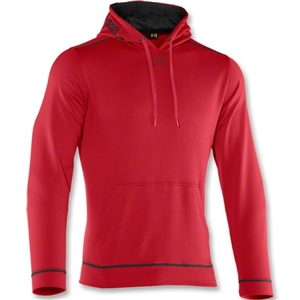 Under Armour Tech Fleece Hoody (Red)