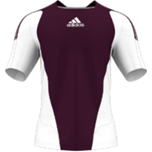 miadidas 7's Basic SF Custom Jersey (Cardinal-Set of 22)