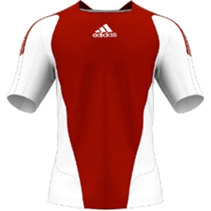 miadidas 7's Basic SF Custom Jersey (Red-Set of 22)