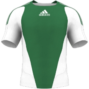 miadidas 7's Basic TF Custom Jersey (Green-Set of 22)