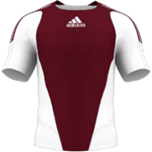 miadidas 7's Basic TF Custom Jersey (Maroon-Set of 22)