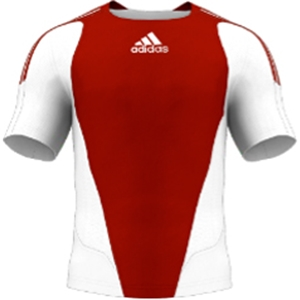 miadidas 7's Basic TF Custom Jersey (Red-Set of 22)