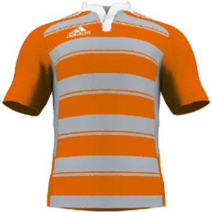 miadidas Union Hoops SF Custom Jersey (Orange/Gray-Set of 22)