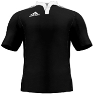 miadidas Union Basic TF Custom Jersey (Black-Set of 22)