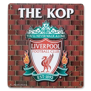 Liverpool The Kop Sign