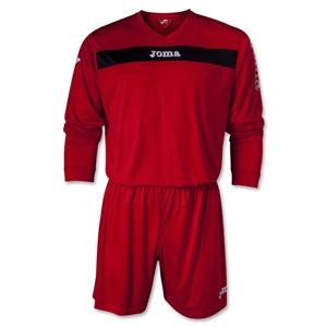 Joma Academy LS Soccer Kit (Red/Blk)