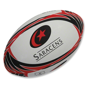 Gilbert Saracens Supporter Rugby Ball