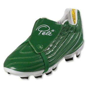 Pele Junior 1962 FG MS KIDS Soccer Shoes (Amazon Green)