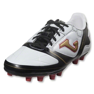 Joma Super Copa Junior FG (White/Black/Gold)