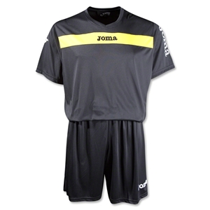 Joma Academy Short Sleeve Soccer Kit (Blk/Yellow)