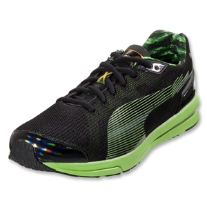 PUMA BOLT evoSpeed Runner (Black/Fluo Green/Amazon)