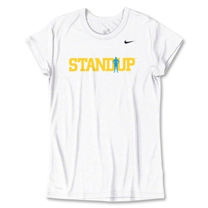 StandUp White Women's Nike T-Shirt