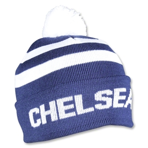 Chelsea Stripe Cuff Beanie (Royal)