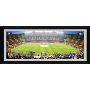 Barcelona Camp Nou 30 x 12 Panoramic