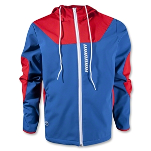 Warrior Softshell Hooded Jacket (Navy/Red)