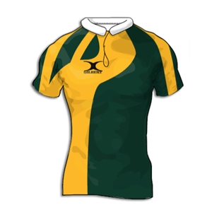 Gilbert Swoop Premier Custom Jersey (Dark Green/Yellow- Set of 22)