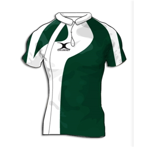Gilbert Swoop Premier Custom Jersey (Green/White- Set of 22)