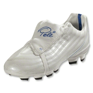 Pele Junior 1962 FG MS KIDS Cleats (Pearl White/Royal/Black)