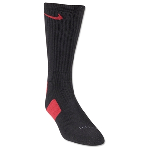 Nike Elite Crew Sock (Blk/Red)