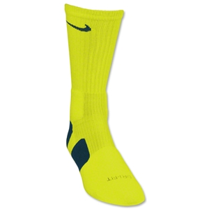 Nike Elite Crew Sock (Neon Green)