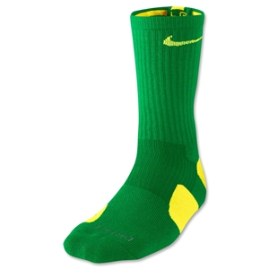 Nike Elite Crew Sock (Gr/Yellow)