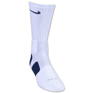 Nike Elite Crew Sock (Wh/Nv)
