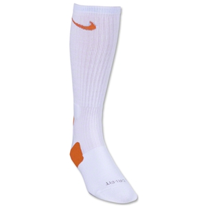 Nike Elite Crew Sock (Wh/Or)