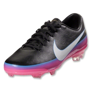 Nike Junior Mercurial Vapor VIII CR FG (Black/Blue Glow)