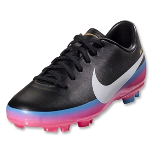 Nike Junior Mercurial Victory III CR FG (Black/Blue Glow)